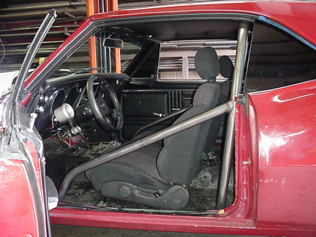 Gm 67 69 F Body 6pt Exact Fit Roll Bar Wild Rides Wild