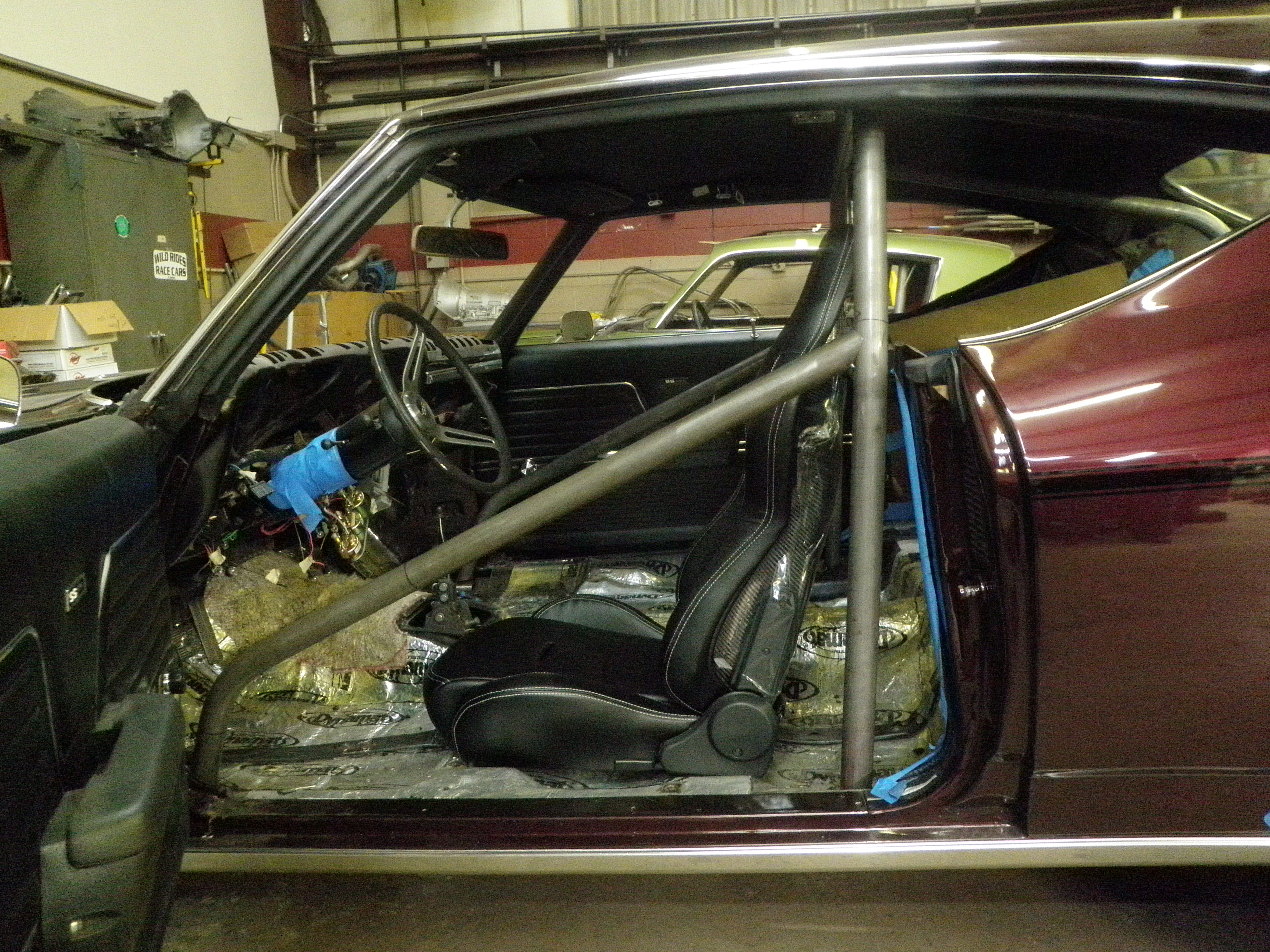Picture of: Gm A Body 6pt Exact Fit Roll Bar Wild Rides