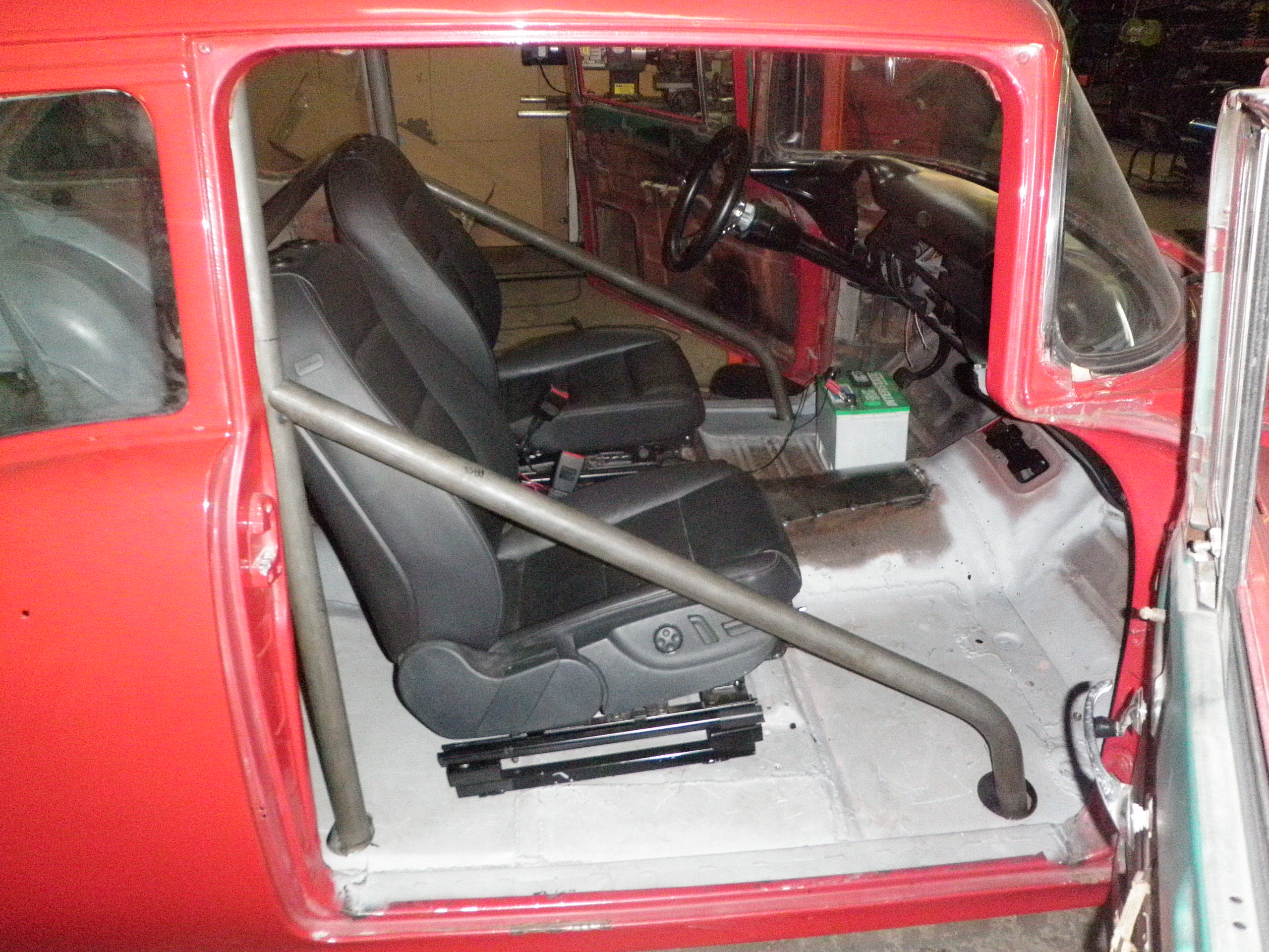55 57 Chevy 6pt Exact Fit Roll Bar Wild Rides